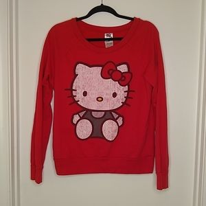 Hello Kitty red sweatshirt